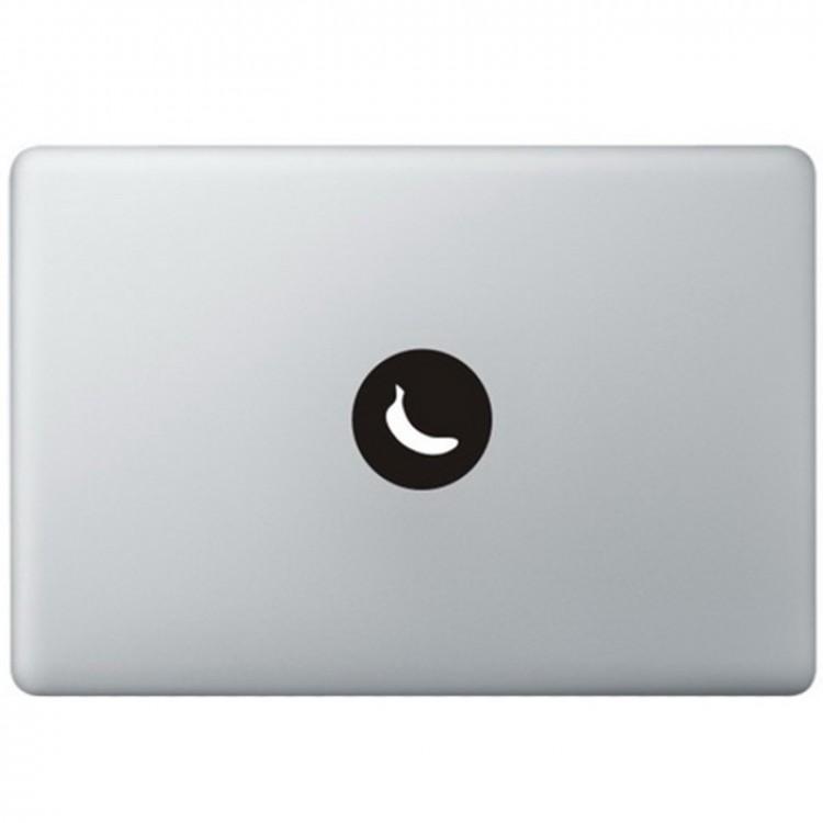 Banana Logo MacBook Decal Black Decals