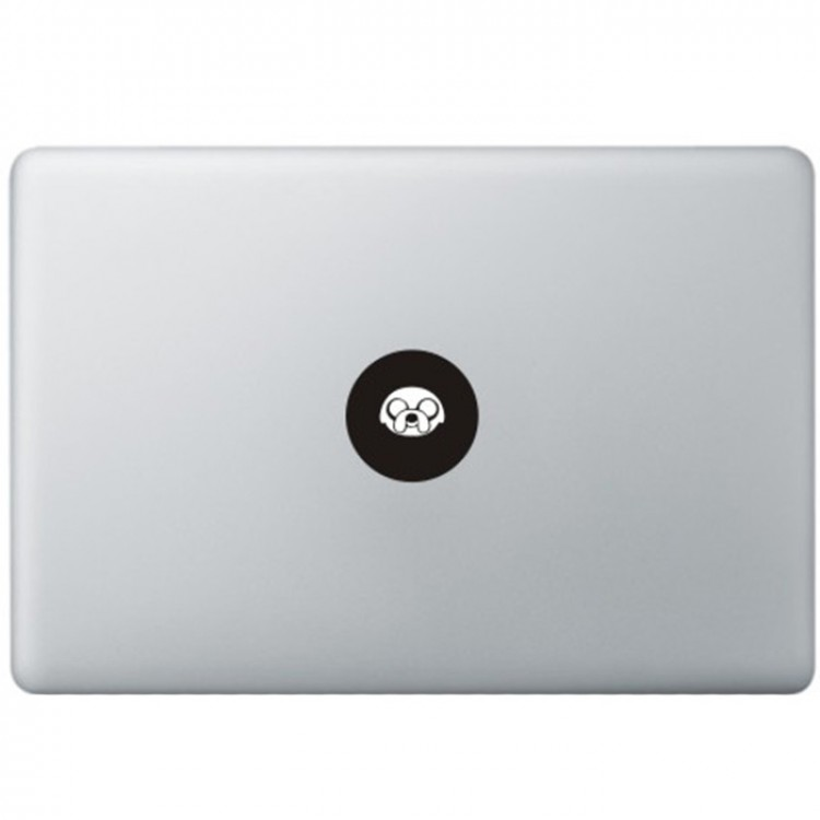 Adventure Time Logo MacBook Decal Black Decals
