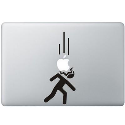 Falling Appels MacBook Decal Black Decals