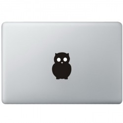 Owl Logo MacBook Decal