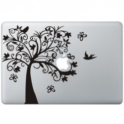 Fancy Tree MacBook Decal