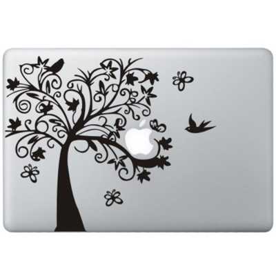 Fancy Tree MacBook Decal