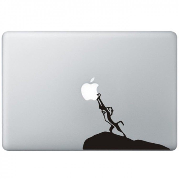 The Lion King MacBook Decal Black Decals