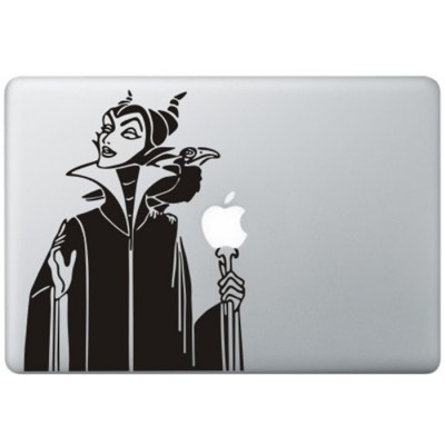 Sleeping Beauty's Maleficent MacBook Decal