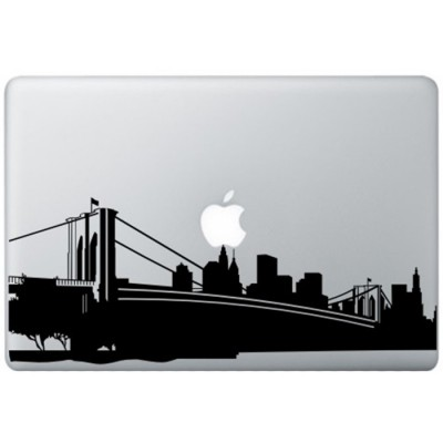 New York MacBook Decal