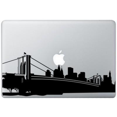 New York MacBook Decal Black Decals