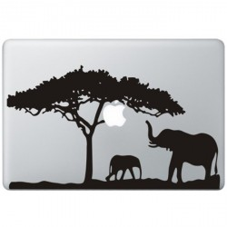 Africa MacBook Decal