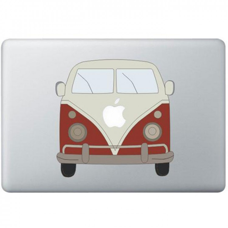 Volkswagen Van Color MacBook Decal Full Colour Decals