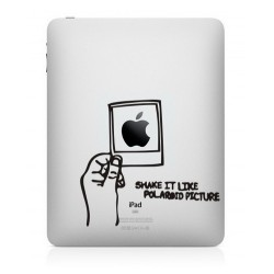 Shake It Like A Polaroid iPad Decal