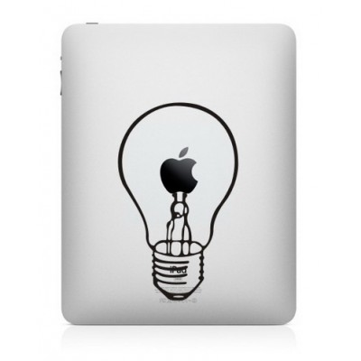 Lamp iPad Decal