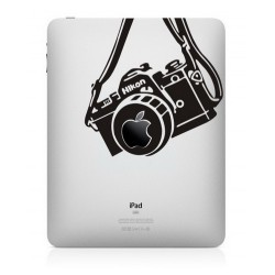 Nikon Vintage Camera iPad Decal