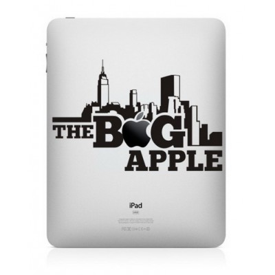 The Big Apple iPad Decal iPad Decals