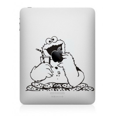 Cookie Monster (2) iPad Decal