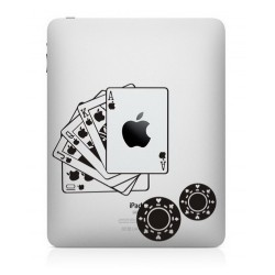 Poker iPad Decal