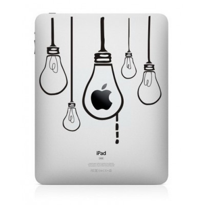 Hanging Lamps iPad Decal