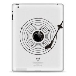 Record Player iPad Decal