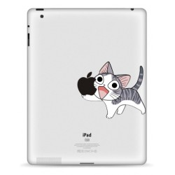 Happy Cat iPad Decal