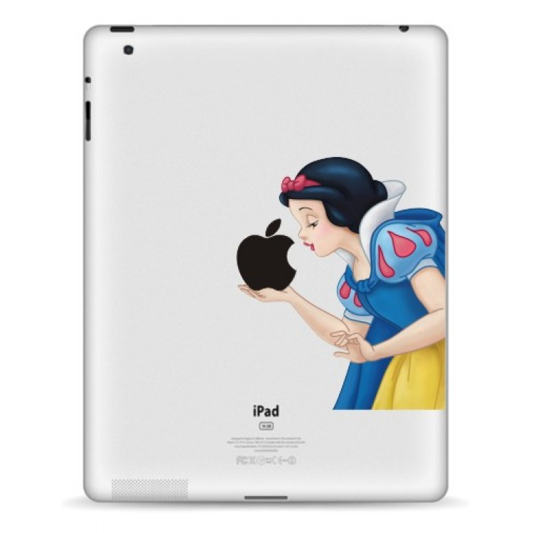 Snow White Colour (2) iPad Decal iPad Decals
