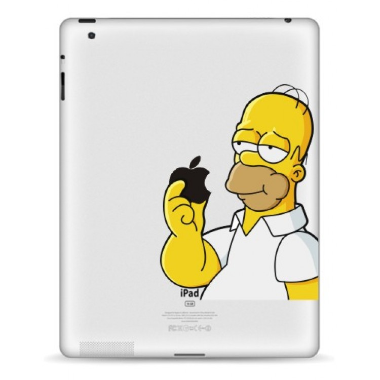 Homer Simpson iPad Decal iPad Decals