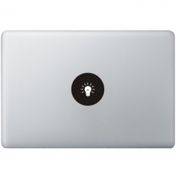 Lamp Logo MacBook Decal