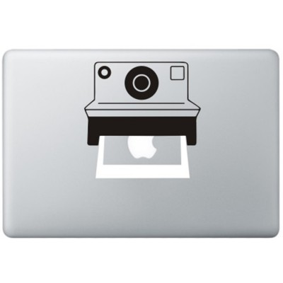 Polaroid Camera MacBook Decal