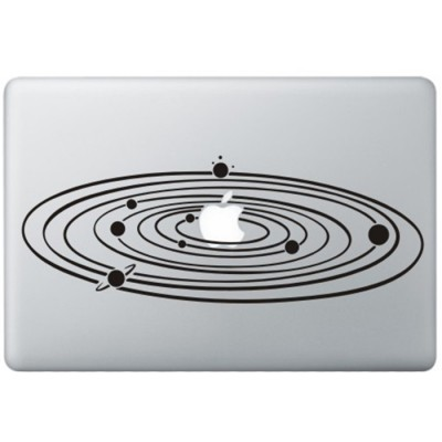 Milky Way MacBook Decal
