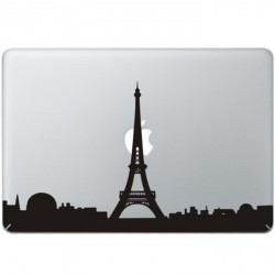 Paris Eiffel Tower MacBook Decal