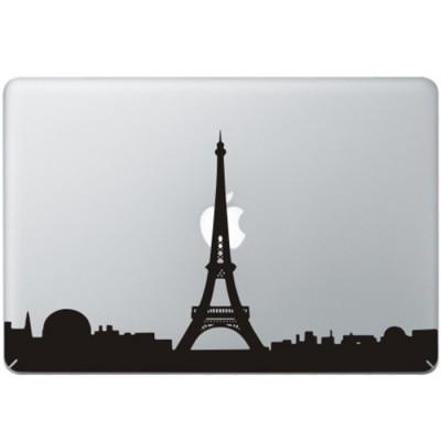 Paris Eiffel Tower MacBook Decal