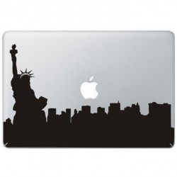 New York Statue of Liberty MacBook Decal