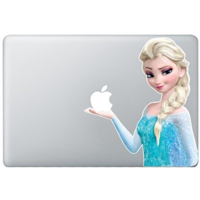 Elsa Frozen MacBook Decal
