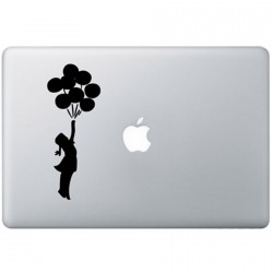 Banksy Ballon MacBook Decal