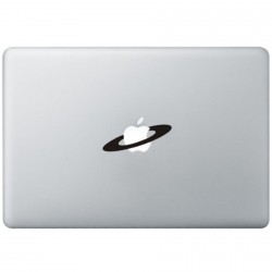 Apple Space MacBook Decal
