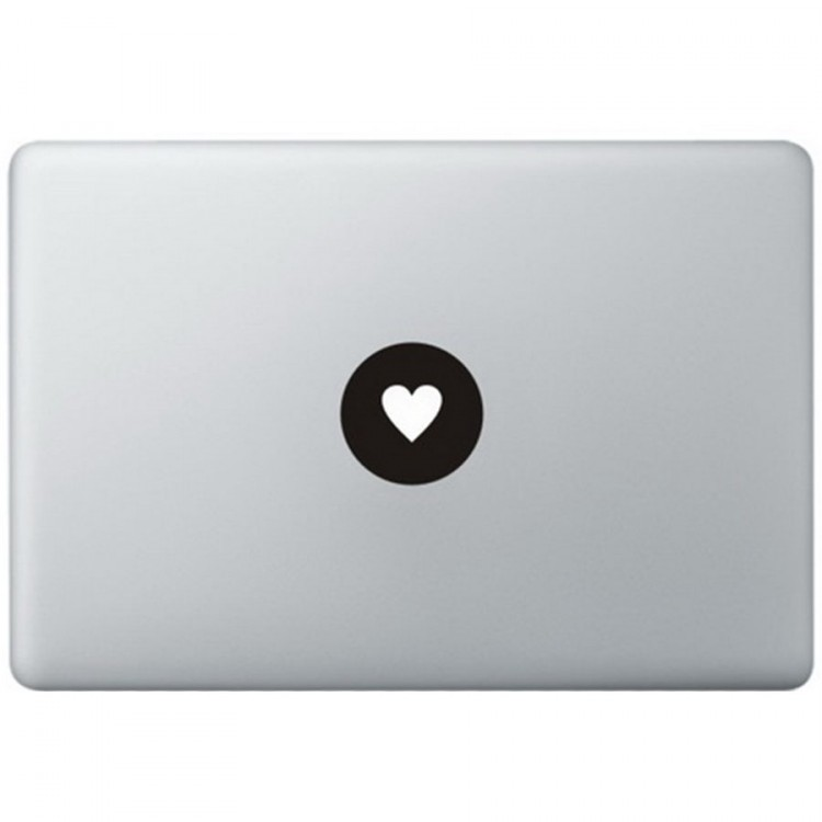 Love Logo MacBook Decal Black Decals
