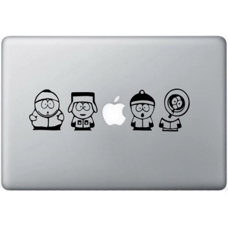 South Park MacBook Decal Black Decals