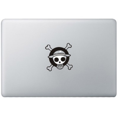 One Piece Monkey MacBook Decal