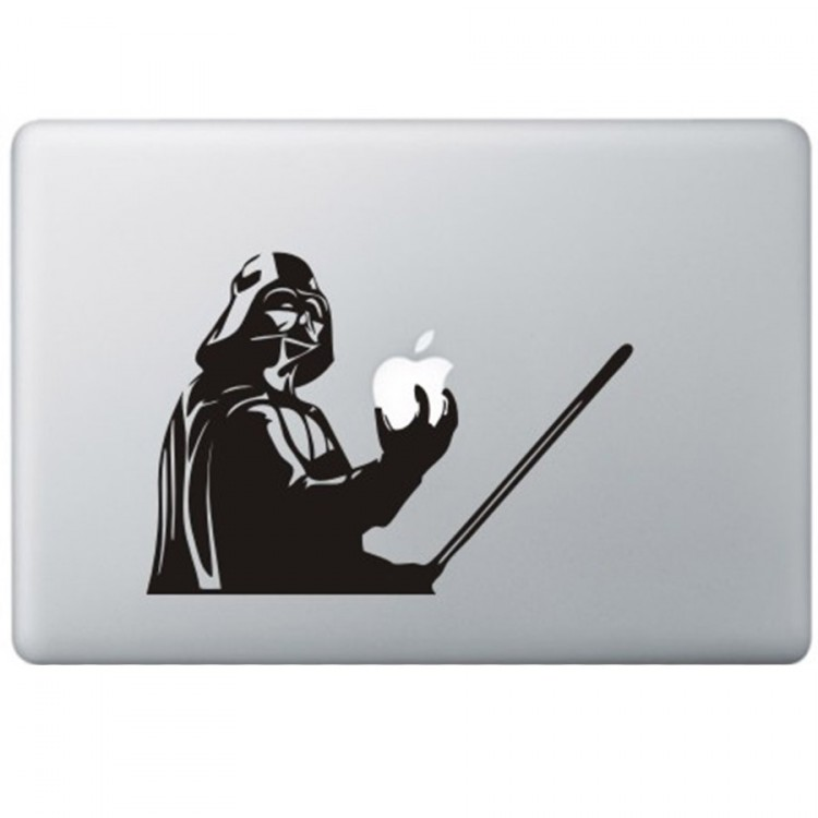 Darth Vader - Star Wars MacBook Decal Black Decals