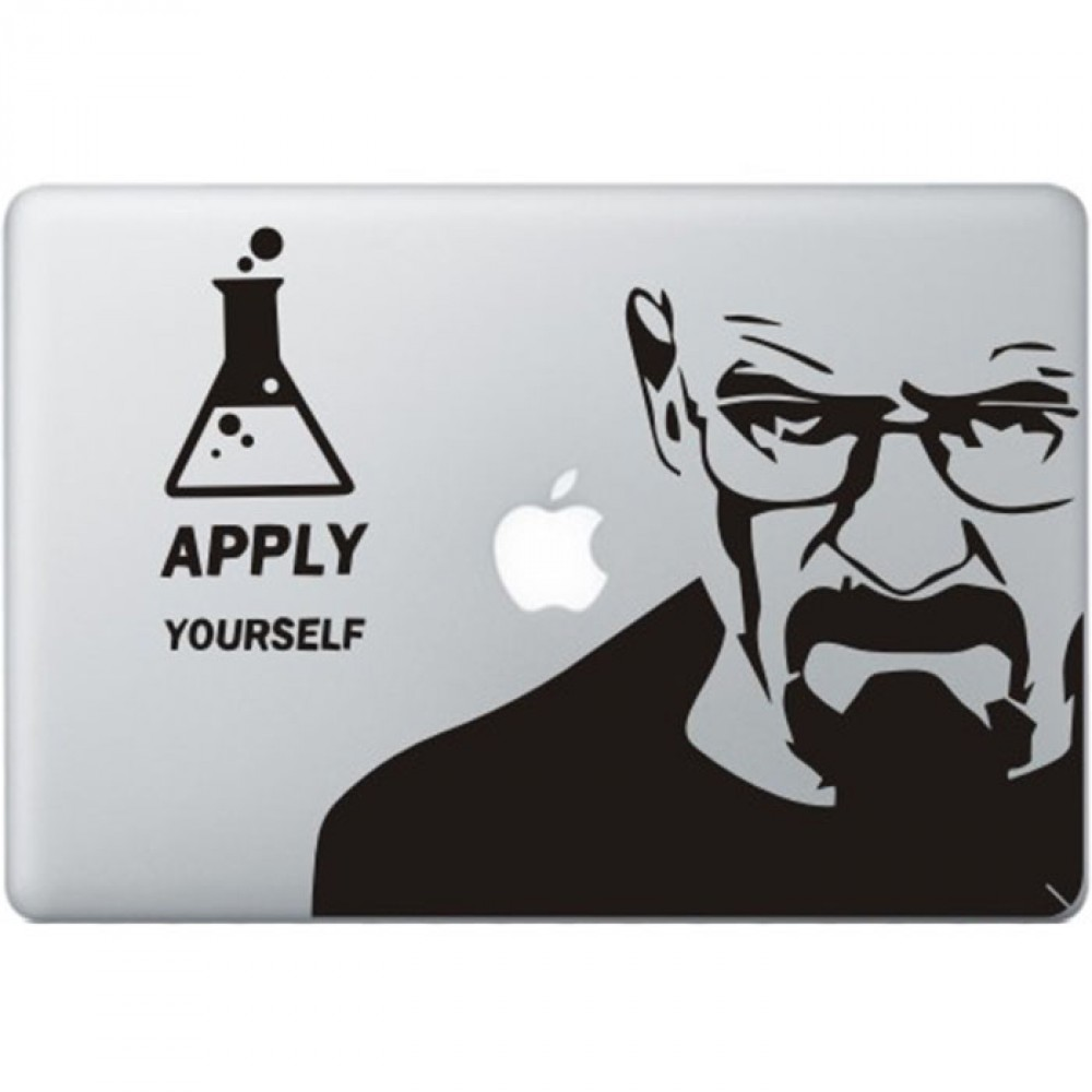Breaking Bad MacBook Decal | KongDecals Macbook Decals