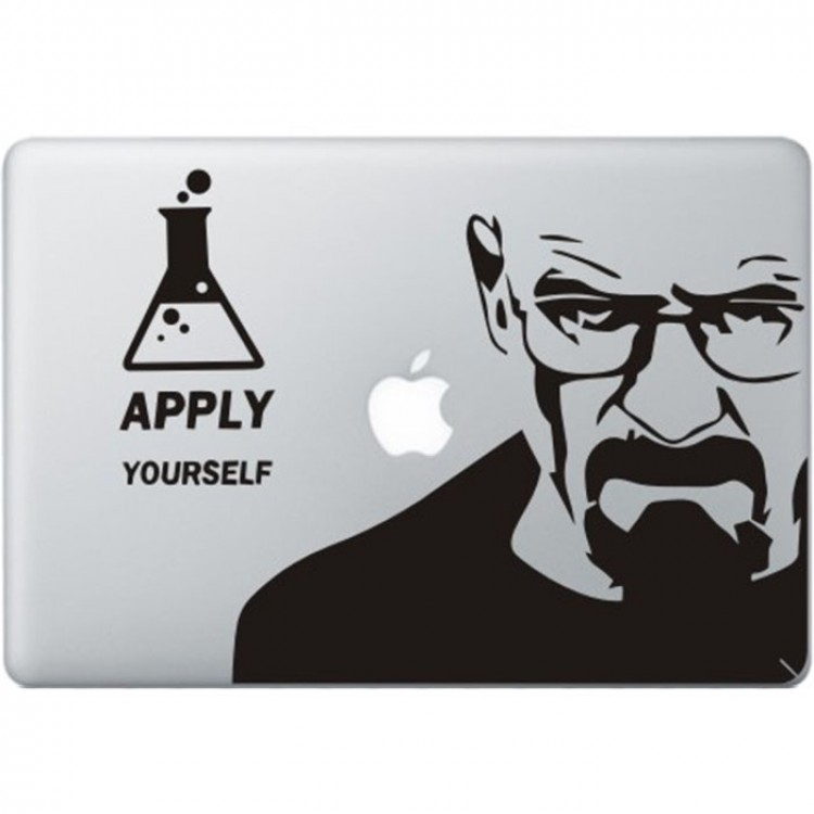 Breaking Bad MacBook Decal Black Decals
