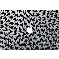 Optical Illusion Macbook Decal