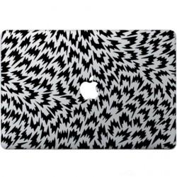 Optical Illusion Macbook Decal