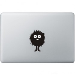 Fuzzy Guy Macbook Decal