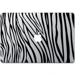Zebra Print Macbook Decal