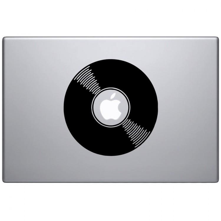 Vinyl Record Macbook Decal MacBook Decals