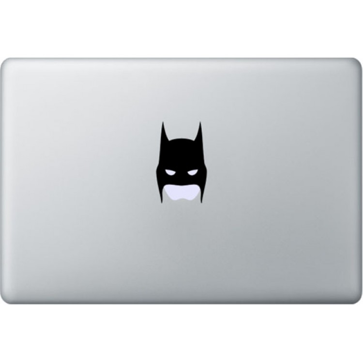 Batman Mask MacBook Decal Black Decals