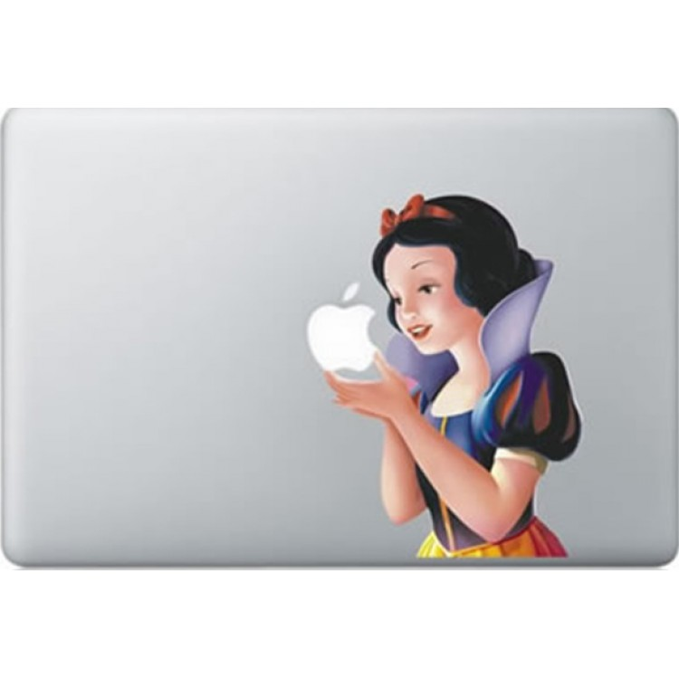 Snow White Colour MacBook Decal Full Colour Decals