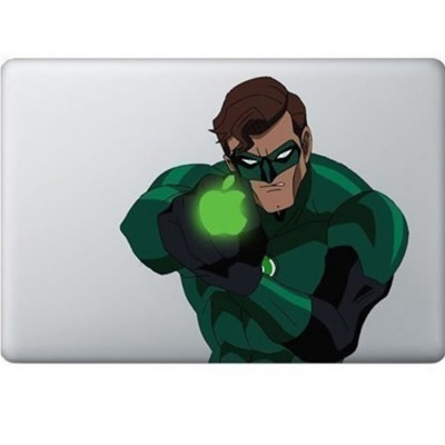Green Lantern MacBook Decal