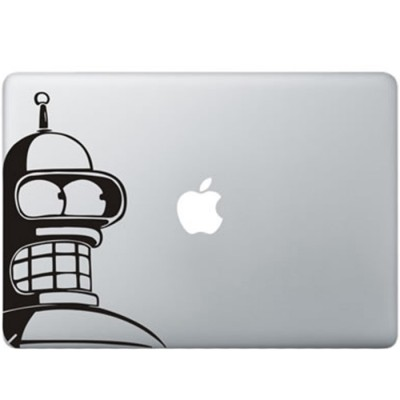 Futurama bender macbook decal