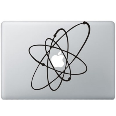 Atoms MacBook Decal