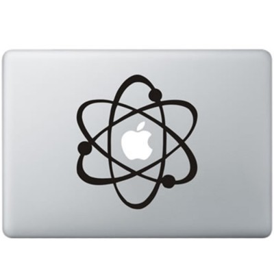 Big Bang MacBook Decal Black Decals